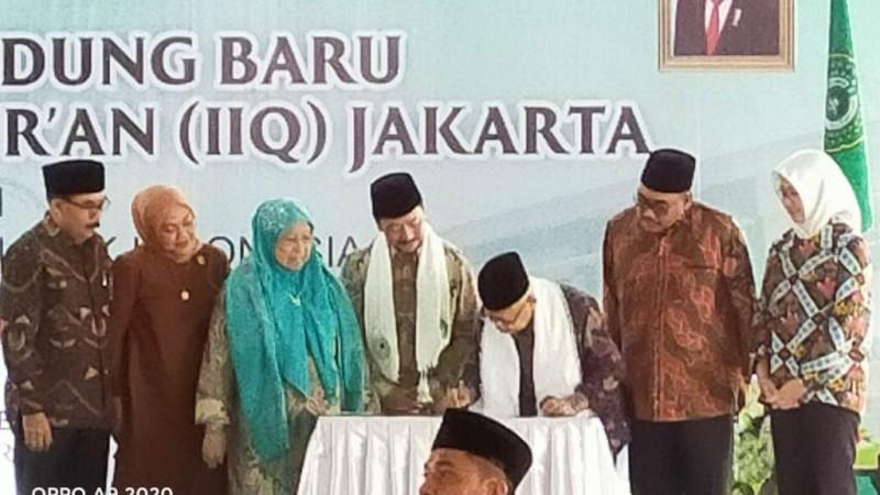 Wapres RI Resmikan Gedung Baru Asrama Institut Ilmu Al-Qur'an Jakarta