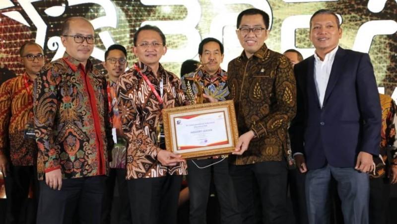 Telkom Raih Predikat 'Industry Leader' 4 Tahun Berturut-turut