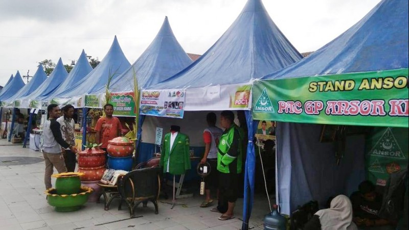 Ansor Tegal Expo Tunjukkan Potensi Kader Ansor di Bawah