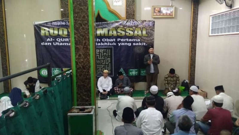 Ruqyah Massal, Cara NU Jaktim Perluas Dakwah NU
