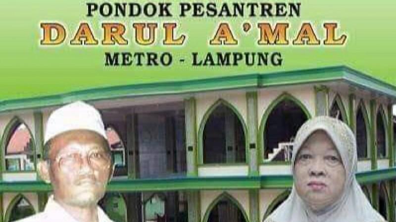 Cegah Covid-19, Pesantren Darul A'mal Metro Tunda Haul dan Khatmil Qutub