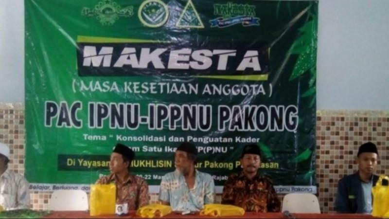 IPNU-IPPNU Pakong Pamekasan Jalin Silaturahim Hadapi Tantangan