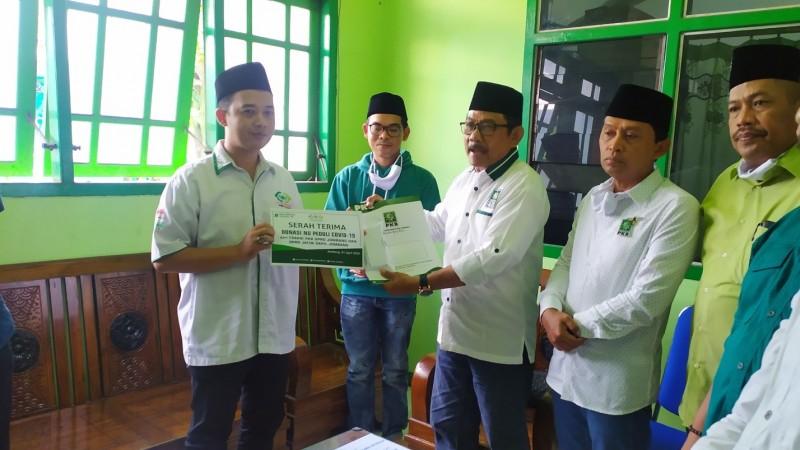 Cegah Covid-19, 10 Anggota DPRD Jombang Donasikan Gaji Lewat LAZISNU