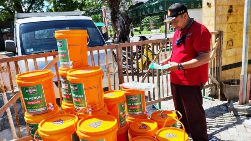 Cegah Corona, Ribuan Lokasi di Gresik Dilakukan Penyemprotan Disinfektan