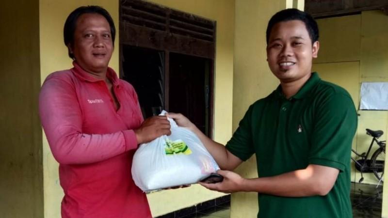Bantuan Sembako Nahdliyin hingga ke Dusun-dusun