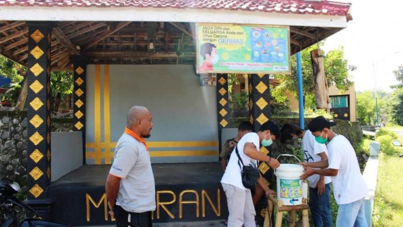 Dari Kaleng Bekas, Remaja Masjid Produksi Tempat Pembersih Tangan