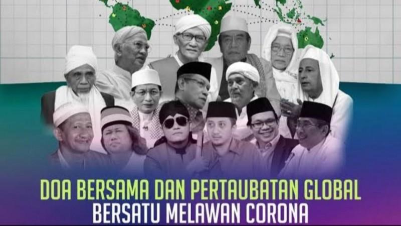 Doa Para Kiai NU Bawa Spirit di Tengah Pandemi Covid-19