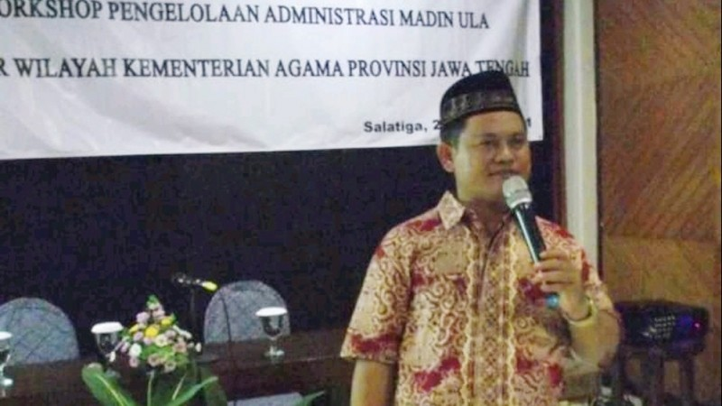 Ketua PC LP Ma'arif NU Kota Semarang H Asikin Kusnan (Foto: Dok LP Ma'arif NU)