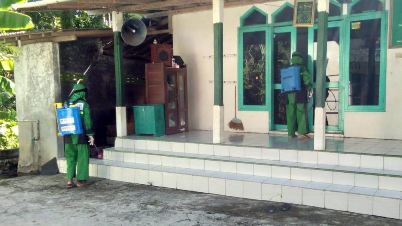 Ansor Kulon Progo Baksos Cegah Wabah Covid-19 di 603 Tempat Ibadah