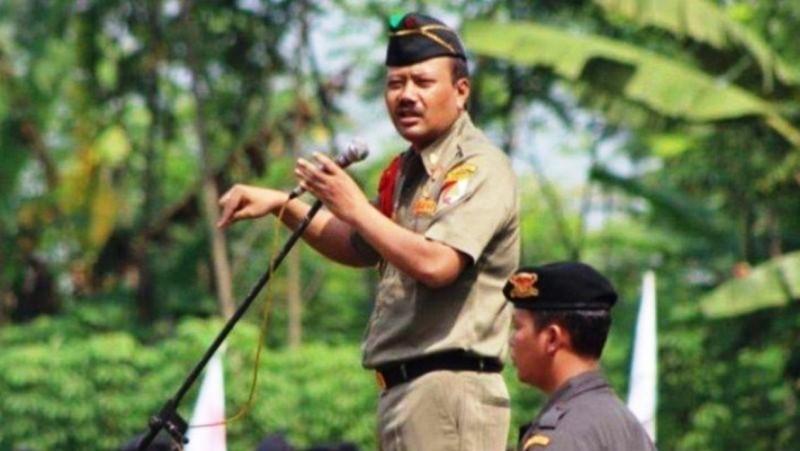 Kepala Satuan Koordinasi Nasional (Kasatkornas) Banser (almarhum) H Alfa Isnaeni. (Foto: NU Online/Istimewa)