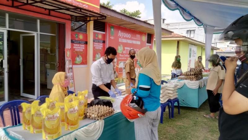 Penuhi Kebutuhan Selama Ramadhan, Pasar Tani Hadir di Riau dan Kalten