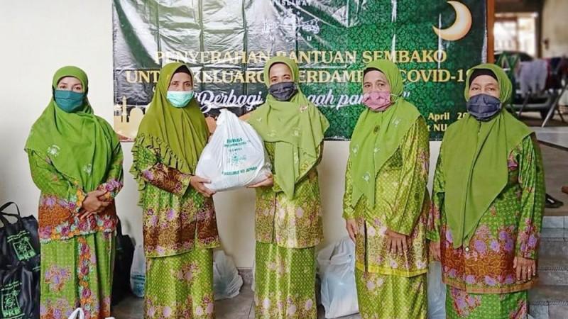 Muslimat NU Jepara: Bantuan Sembako Sangat Ditunggu Warga