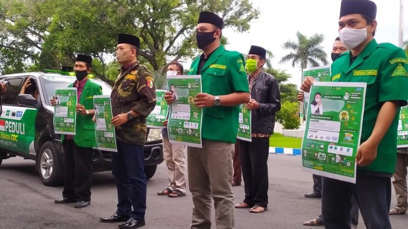 Maksimalkan Edukasi pada Masyarakat, NU Jombang Luncurkan Mobil Siaga Covid-19