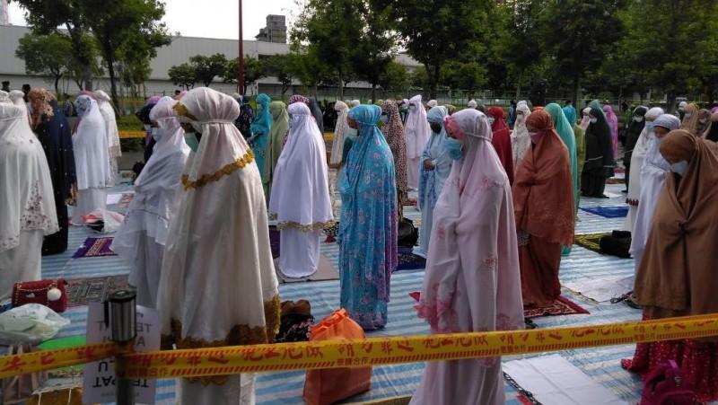 Saat Perayaan Idul Fitri Muslim Indonesia di Inggris, Malaysia, dan Taiwan