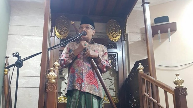 Ikuti Protokol Kesehatan, Masjid An-Nahdlah PBNU Adakan Shalat Jumat