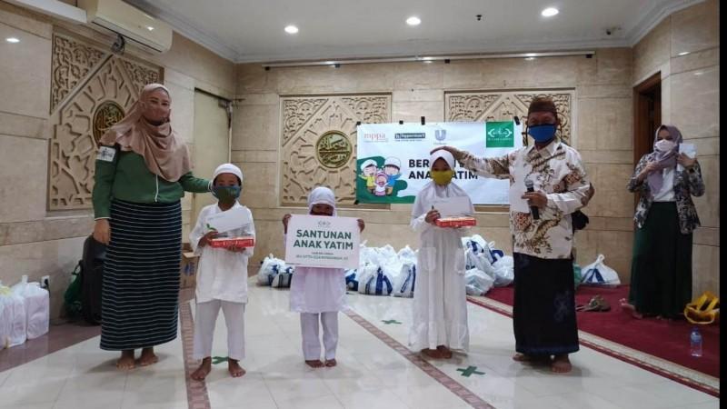 NU Care-LAZISNU Berbagi Bersama Anak Yatim Jakarta