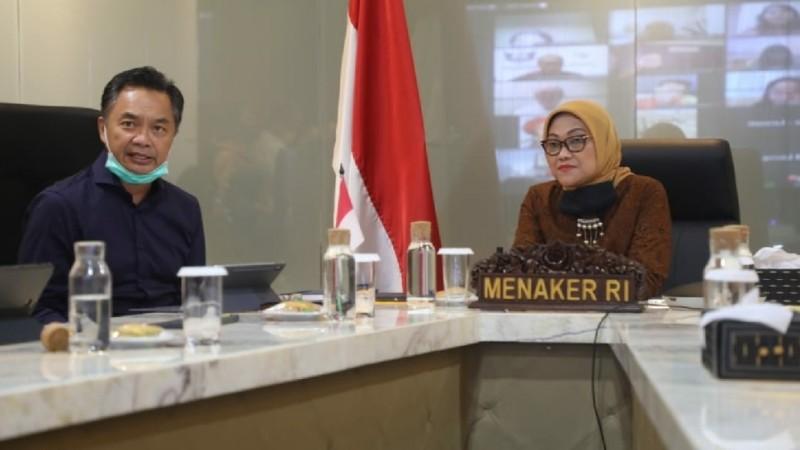 Kemnaker dan Diaspora Indonesia Galang Donasi Bagi Pekerja Terdampak Covid-19