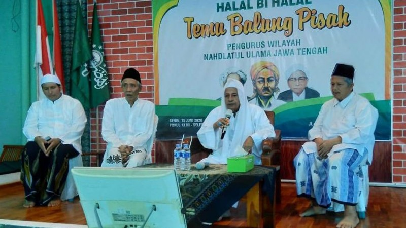 Habib Luthfi Ingatkan Halal Bihalal Harus Dimaksimalkan untuk Sambung Sanad Nahdliyin