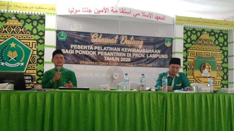 Agrobisnis Pesantren di Lampung Tetap Bergeliat di Era Pandemi