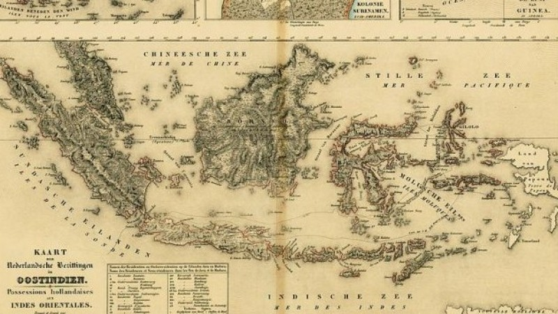 Wilayah Nusantara. (Foto: Pinterest)