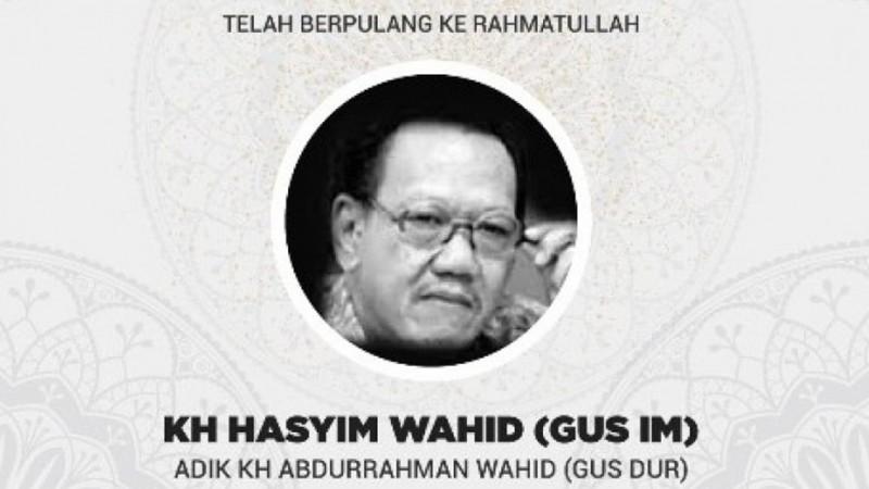 Almarhum KH Hasyim Wahid
