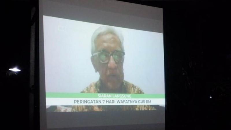 dr Umar Wahid: Gus Im Luar Biasa Cerdasnya
