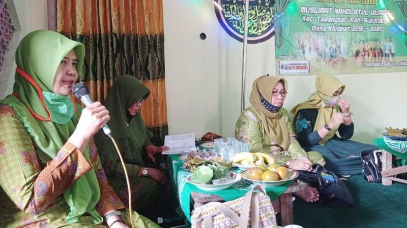 Muslimat NU Sukoharjo: Pengurus Harus Kompak Jalankan Program