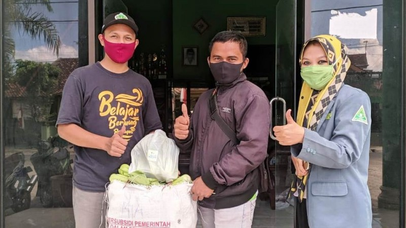 IPNU-IPPNU Tulungagung Peringati Kemerdekaan dengan Peduli Gizi Santri