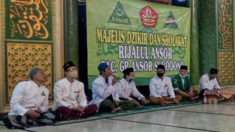 Jaga Protokol Kesehatan, Rijalul Ansor Sukodono Sidoarjo Kembali Rutinan