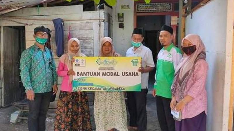 Peduli Masyarakat Kecil, LAZISNU di Pekalongan Bantu Modal Usaha
