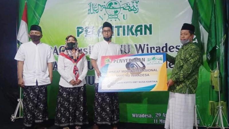 Dukung Kinerja MWCNU, BMT Nusa Kartika di Pekalongan Serahkan 1 Unit Mobil dan Dana Abadi