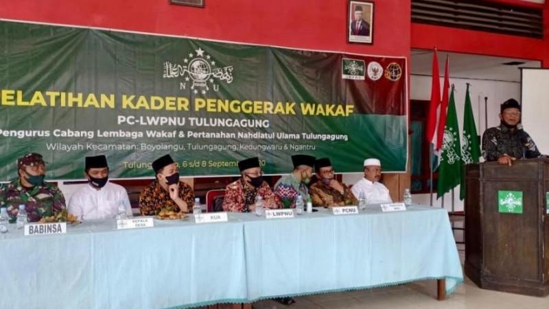 Lembaga Wakaf NU Tulungagung Tingkatkan Kompetensi Kader