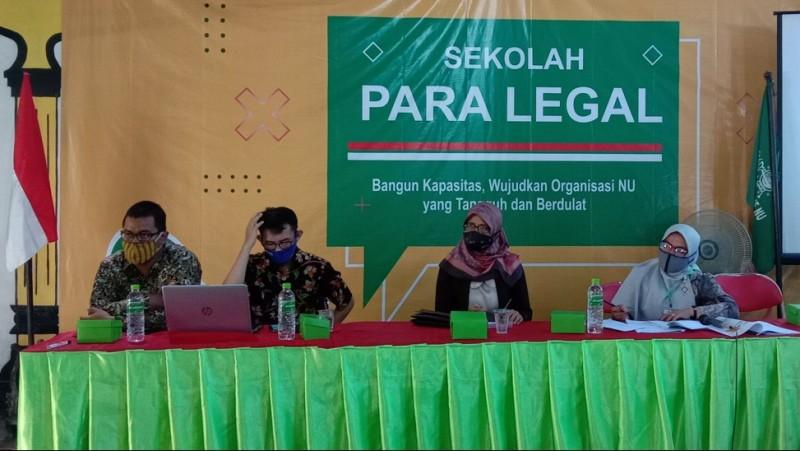 Tingkatkan Kapasitas, Lakpesdam NU Klaten Gelar Sekolah Paralegal
