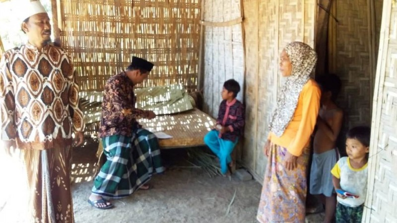 LAZISNU di Sumenep Kembali Rehab Rumah Dluafa