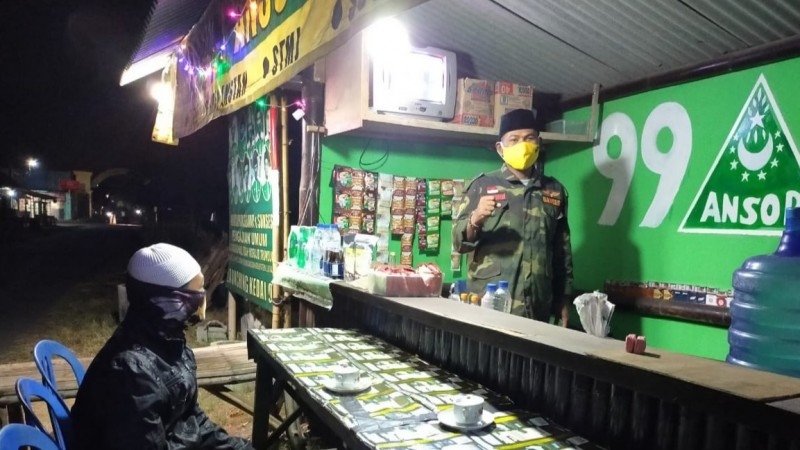 Wujudkan Kemandirian Organisasi, Ansor Wotgalih Lumajang Dirikan Cafe