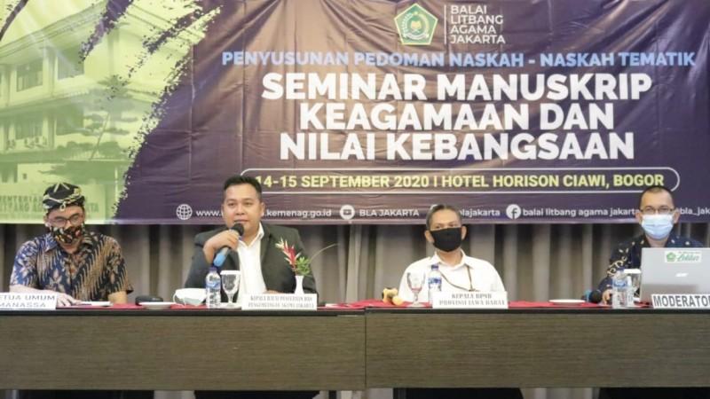 BLA Jakarta Gali Nilai Kebangsaan dari Manuskrip Keagamaan