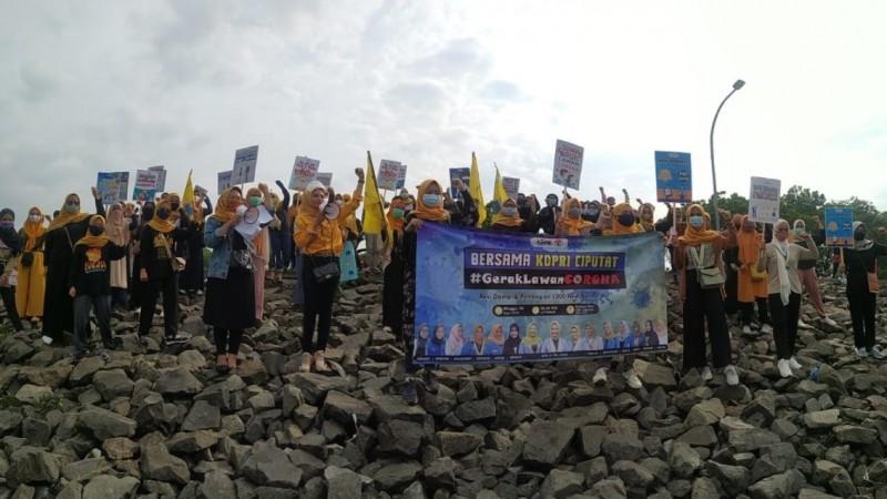 Kopri PMII Ciputat Luncurkan Aksi Damai 'Gerak Lawan Corona'