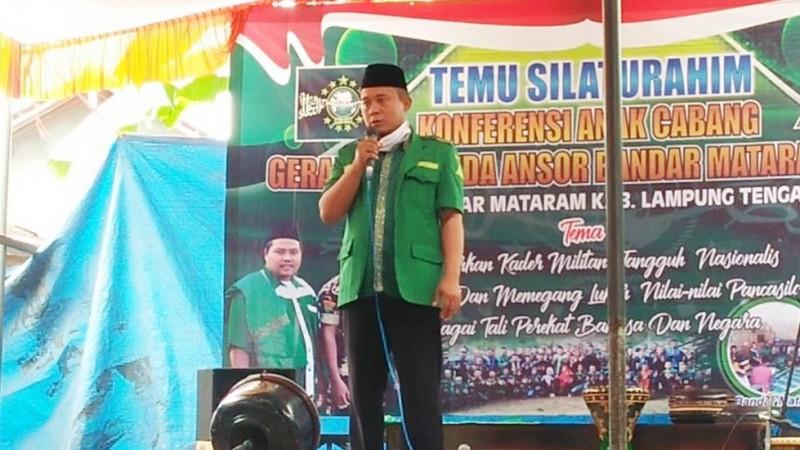 Ansor Lampung Minta Kader Tetap Taati Protokol Kesehatan