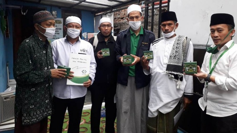 NU Care-LAZISNU Kota Bandung Masifkan Penyebaran Koin NU
