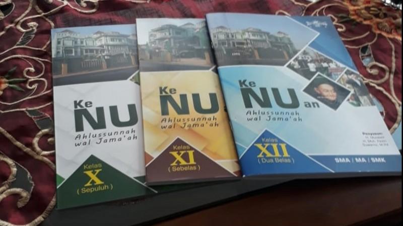 Ma'arif NU Pringsewu Terbitkan Buku Ke-NU-an Aswaja
