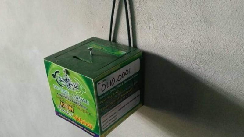 25 Ribu Kotak Infak Dikelola LAZISNU Pringsewu