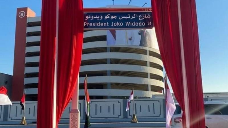 Jalan Presiden Jokowi di Abu Dhabi