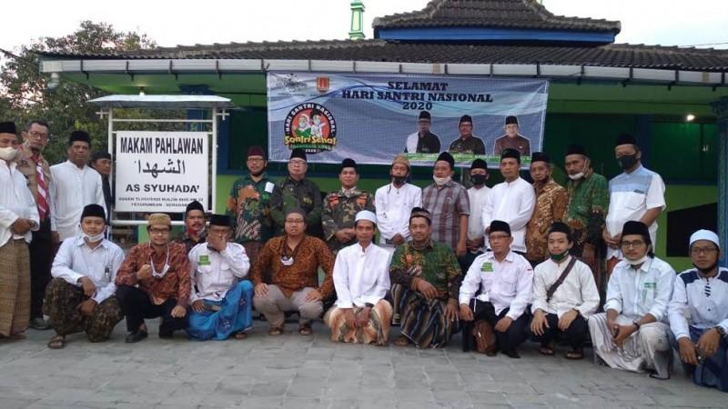 NU Semarang Ziarahi Makam Syuhada Perang Kemerdekaan RI