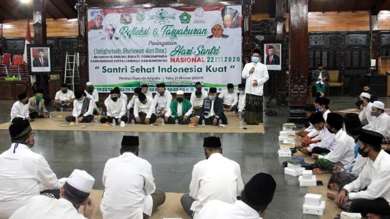 Hari Santi Momentum Edukasi Protokol Kesehatan Cegah Covid-19