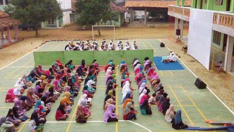 Sekolah di Al Hidayat Gerning Pesawaran Tatap Muka Sejak Tahun Ajaran Baru
