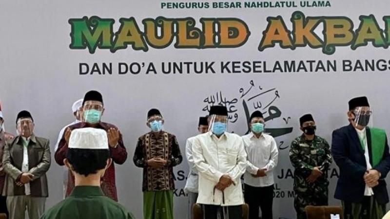 Gubernur DKI kepada Ketum PBNU: Teruslah Jadi Mata Air untuk Umat Islam