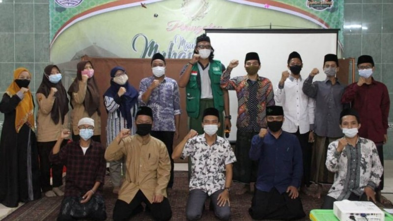 Satgas NU Peduli Depok Sosialisasikan Penanganan Covid-19 kepada Santri