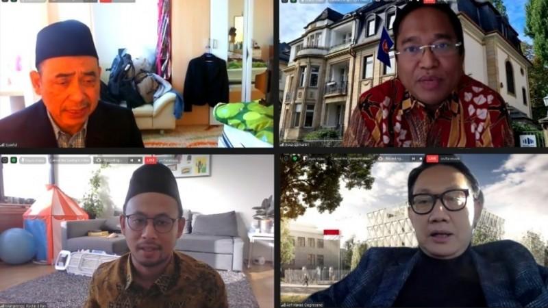 Peringati Maulid Nabi, NU Jerman Gemakan Shalawat secara Virtual