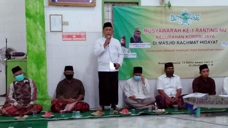 NU di Bandar Lampung Kebut Pembentukan Pengurus di Akar Rumput