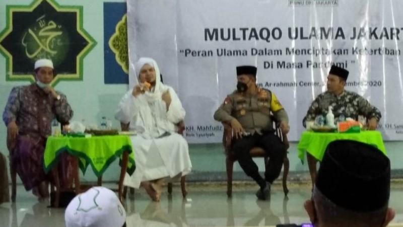 Bersama Habaib dan Ulama, PWNU Jakarta: Kegiatan Keagamaan Offline Sebaiknya Dihindari